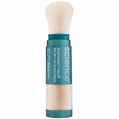 Colorescience Sunforgettable Total Protection Brush-On Mineral Shield SPF 50 (Fair) - Jennyfer Cocco, MD - Plastic Surgery