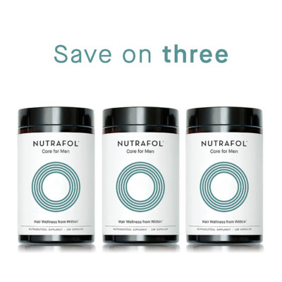 Nutrafol Core for Men 3 Pack - Jennyfer F. Cocco, MD - Plastic Surgery