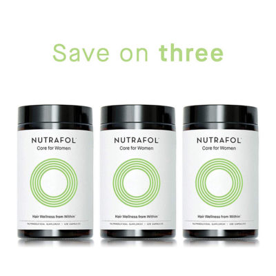 Nutrafol Core for Women 3 Pack - Jennyfer F. Cocco, MD - Plastic Surgery